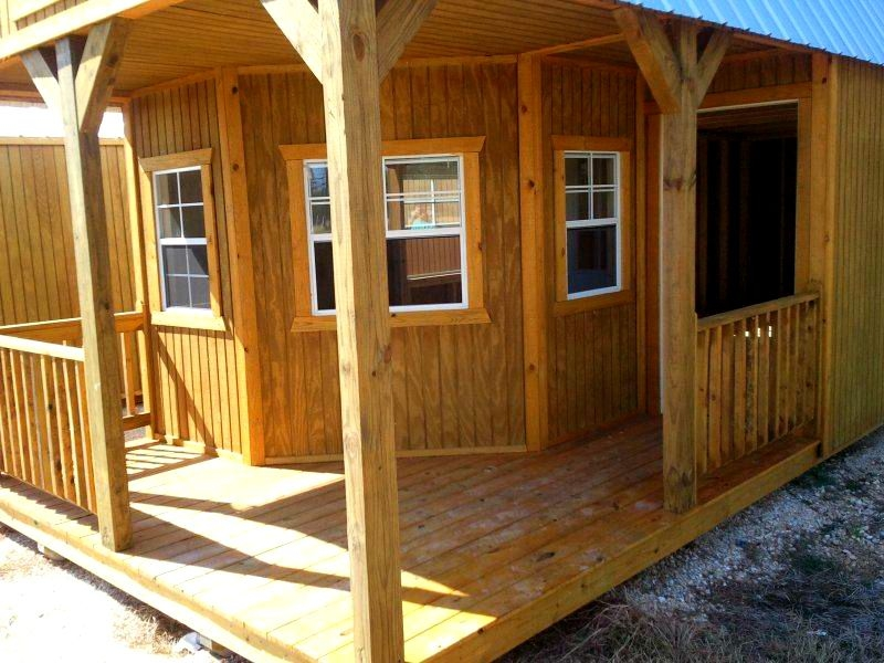 16x40 finished cabin pictures to pin on pinterest pinsdaddy 16x40 Deluxe Lofted Barn Cabin