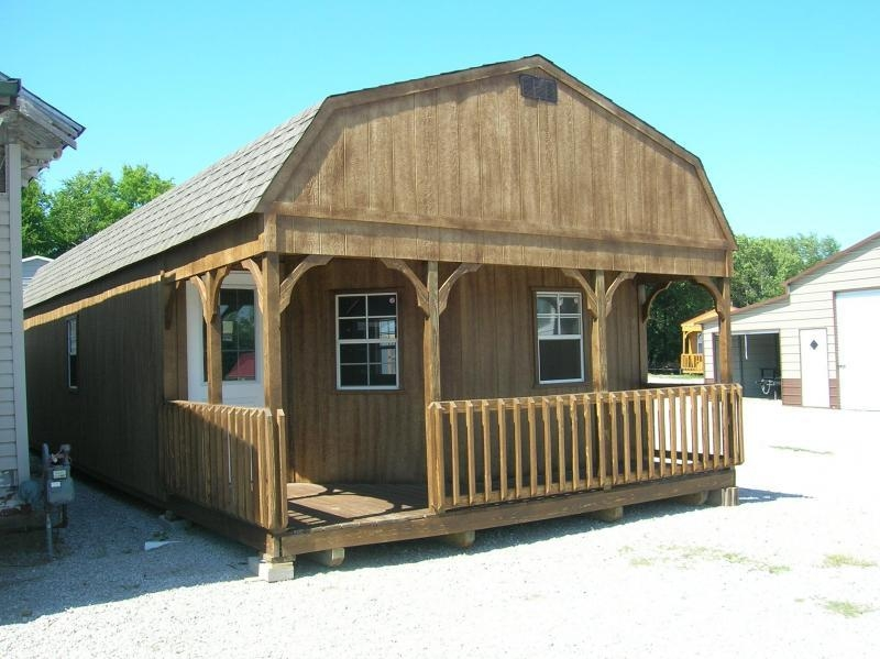 Permalink to 16×40 Deluxe Lofted Barn Cabin
