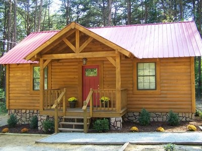1br cabin vacation rental in mentone alabama 220737 Little River Canyon Cabins