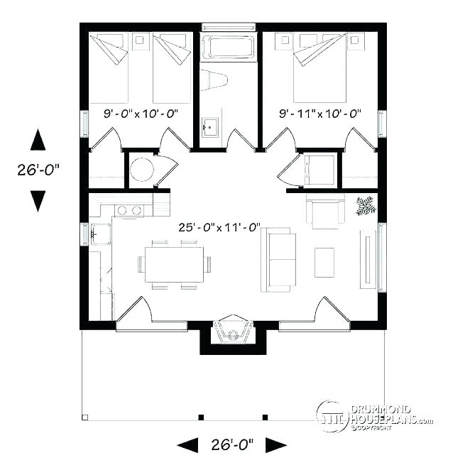 2 bedroom cottage plans australia english house zimbabwe 2 Bedroom Cabin Floor Plans