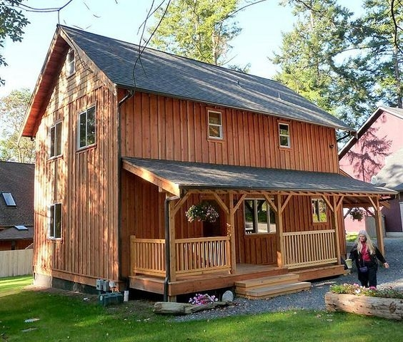 2 story cabin turn an inexpensive lake house in to a great Two Story Cabin Plans