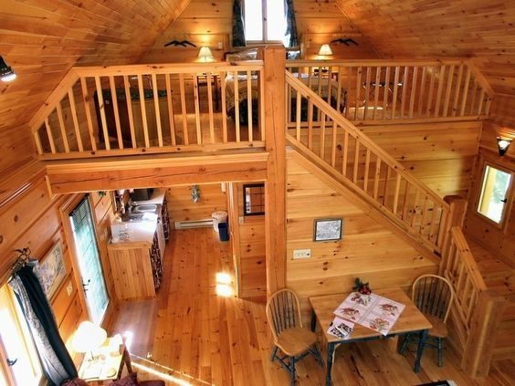 20×20 cabin interior bing images in 2019 cabin loft log Small Cabins With Lofts