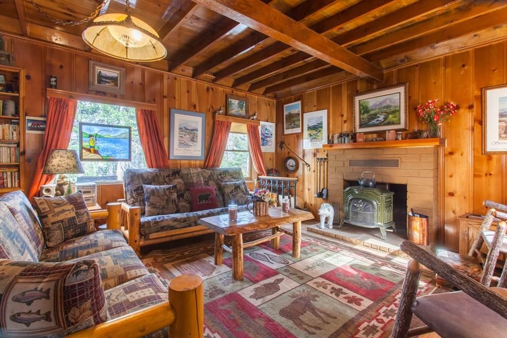 4500 lake mary road cabin n 17 mammoth lakes ca 3 bed Cabins In Mammoth