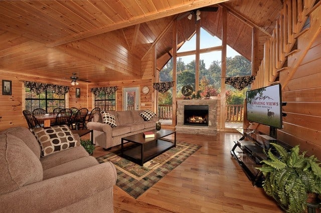 5 amenities that make our great smoky mountains cabins for Smokey Mountains Cabin
