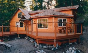5 innovative rustic cabin exteriors Cabin Siding Options