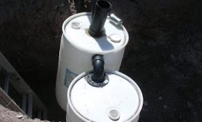 55 gallon barrel septic system Small Septic System For Cabin