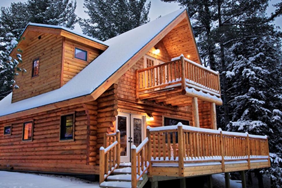 6 cozy cabins for the perfect new york winter vacation Log Cabin Upstate Ny