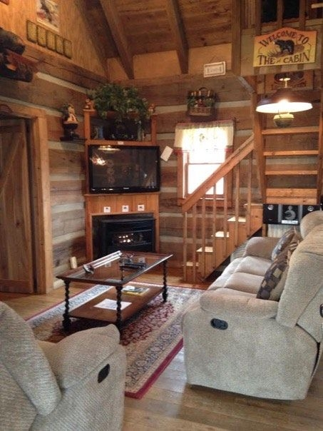 600 sq ft bearadise tiny cabin tiny and small homes 600 Square Foot Log Cabin