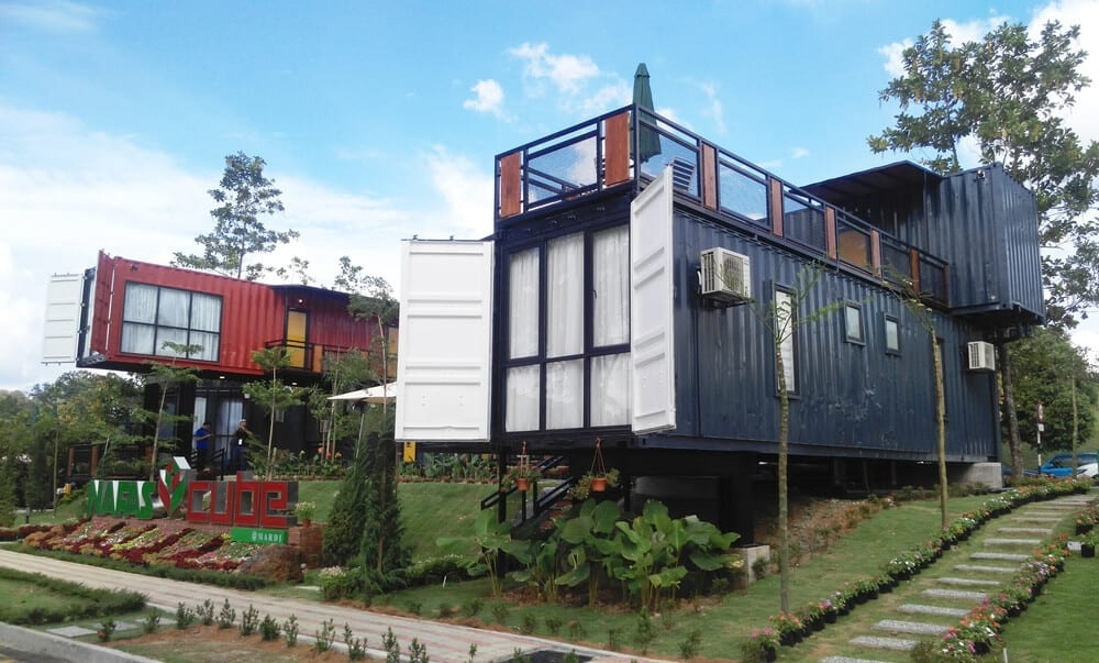 9 shipping container homes you can buy right now the Storage Container Cabins