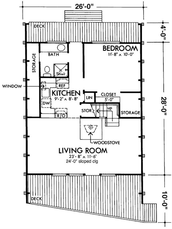 a frame house plans home design ls h 15 1 A Frame Cabin Floor Plans
