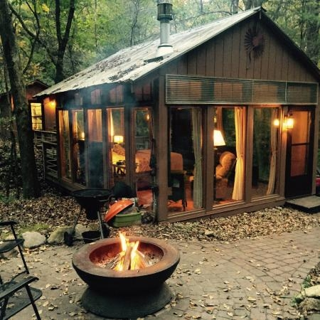amazing weekend in the glass house picture of candlewood Candlewood Cabins