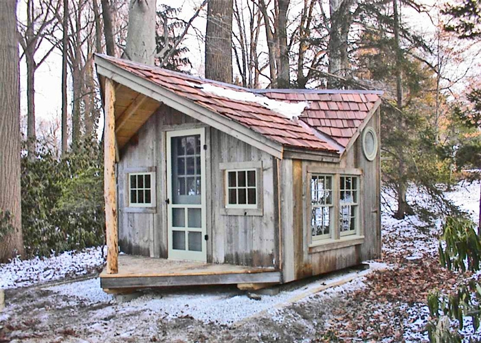 Permalink to Elegant Backyard Cabin Kits Ideas