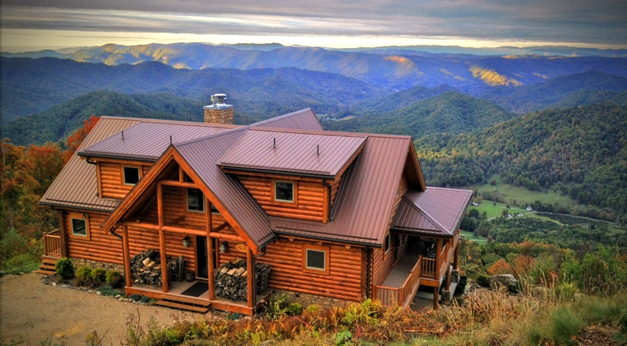 blue ridge mountains cabins and vacation rentals in nc sc Luxury Cabins In Virginia