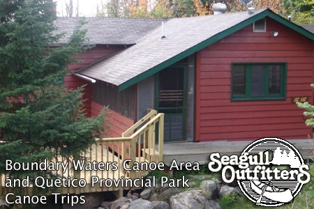 boundary waters cabin rentals on seagull lake and saganaga Boundary Waters Cabins