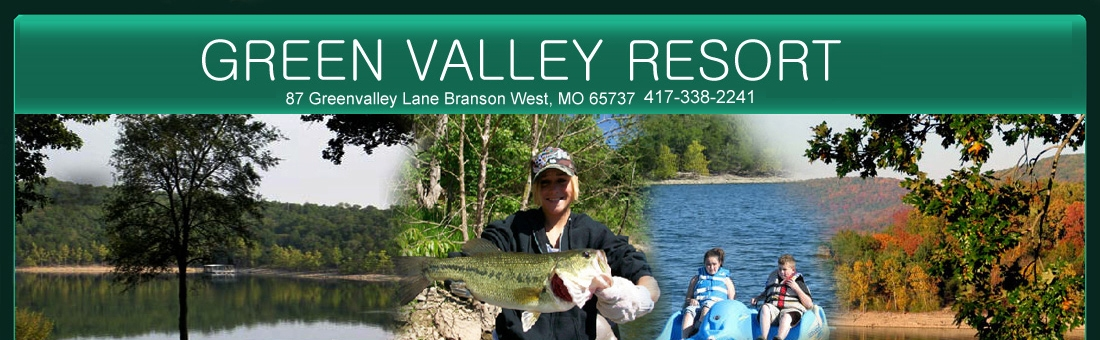 branson table rock cabin rentals lake resort and cabins Green Valley Lake Cabins