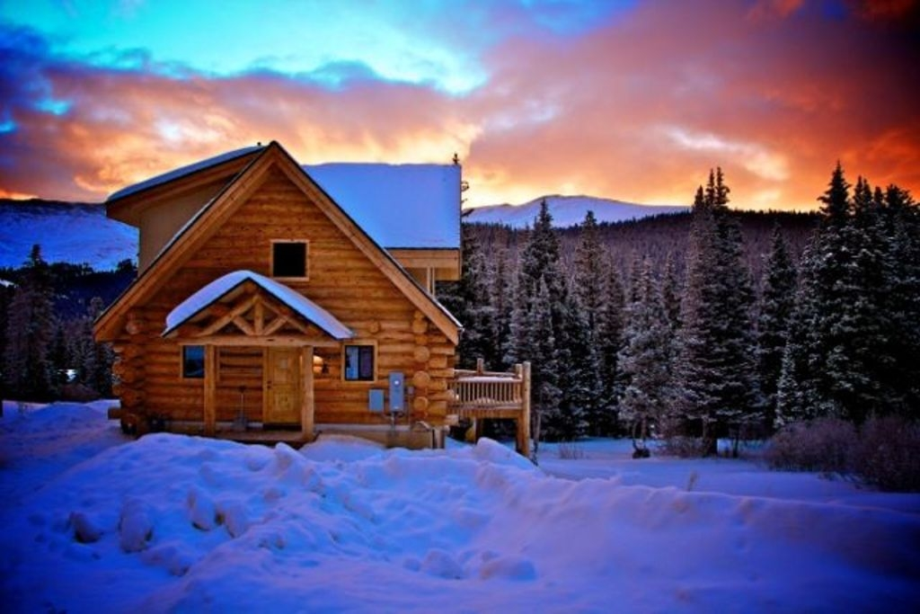 breckenridge cabin with million views and hot tub quandary village Breckenridge Colorado Cabins