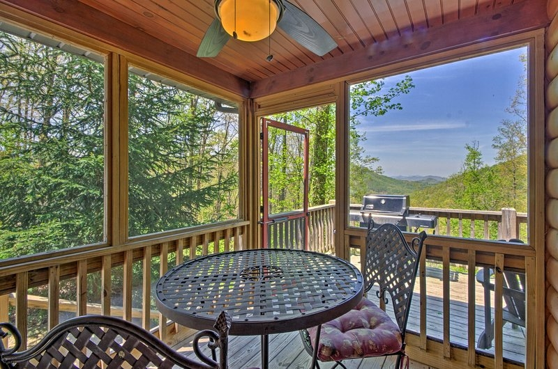 bryson city cabin w private spa mountain views updated Cabins Bryson City Nc