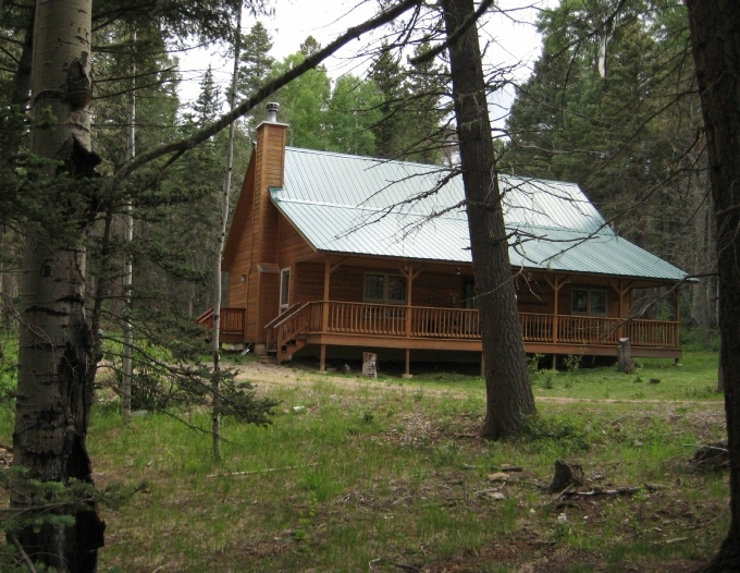 cabin in the woods homepage Angel Fire New Mexico Cabins