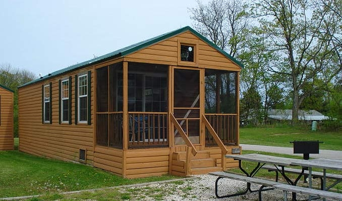 cabin rentals rental cabins plymouth rock camping resort Alum Creek Cabins