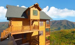 cades cove castle 8 bedroom cabin in sevierville 8 Bedroom Cabins In Gatlinburg
