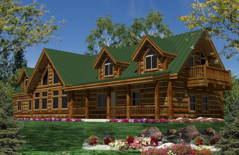 california log homeslog home floorplans calog home plans Two Story Log Cabin Layouts