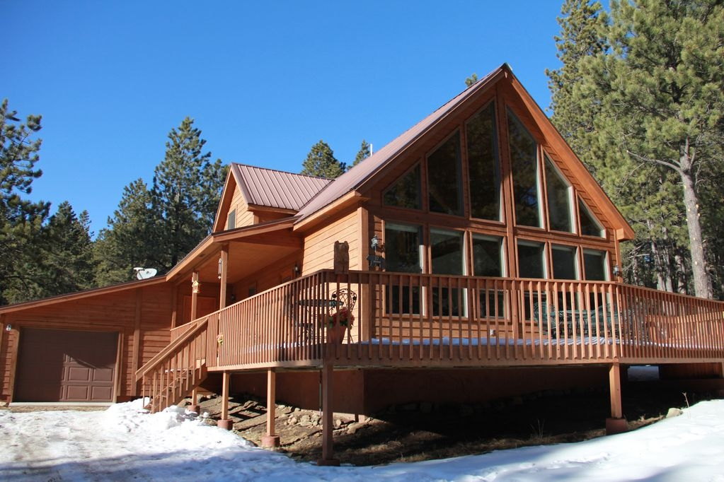 centrally located luxuriously comfortable 3 br cabin angel fire Angel Fire Cabins