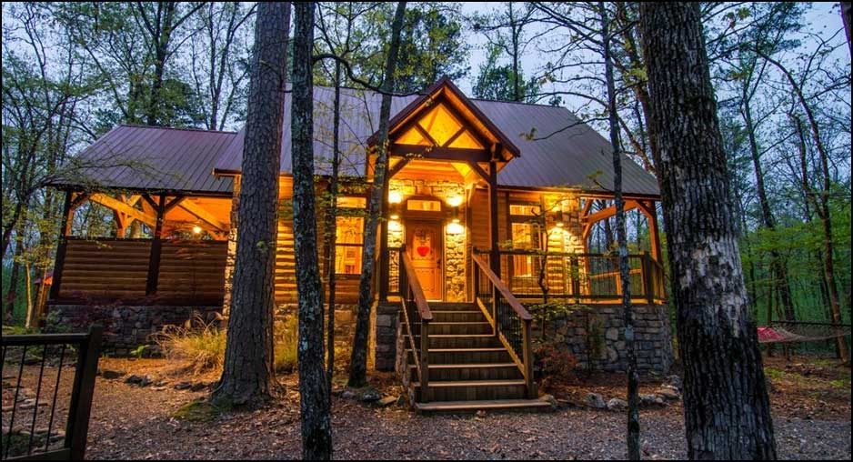 chasing fireflies romantic studio cabin cabin rentals Secluded Cabins In Oklahoma