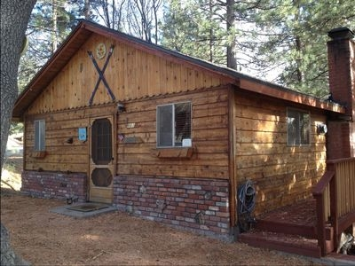 come and stay at the getaway green valley lake Green Valley Lake Cabins
