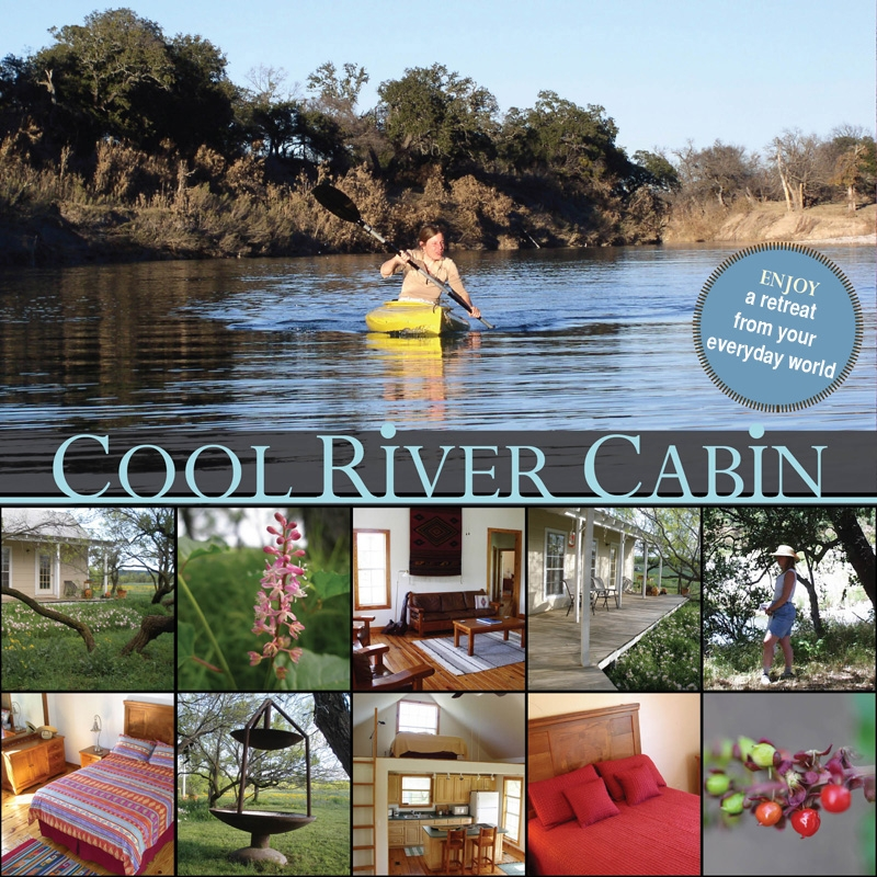 cool river cabin vacation on the llano river River Cabins Texas