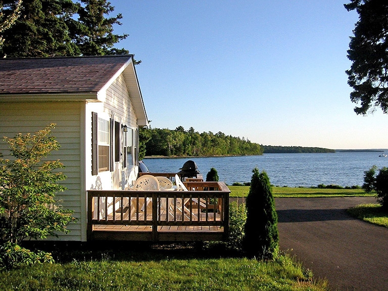 cottage rentals bar harbor maine lakeside cabin rentals Cabins Acadia National Park