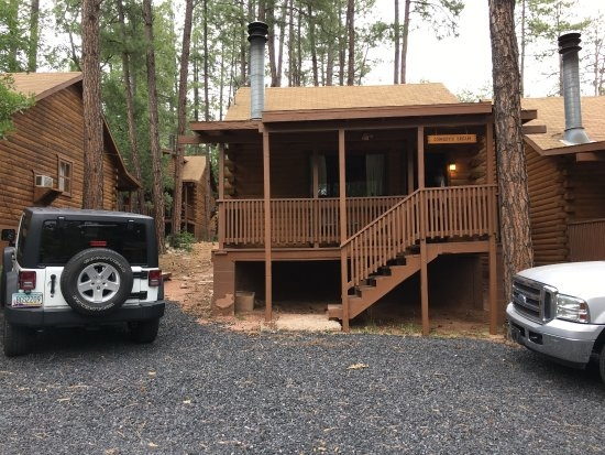 creekside cabin rentals campground reviews payson az Cabins In Payson Az