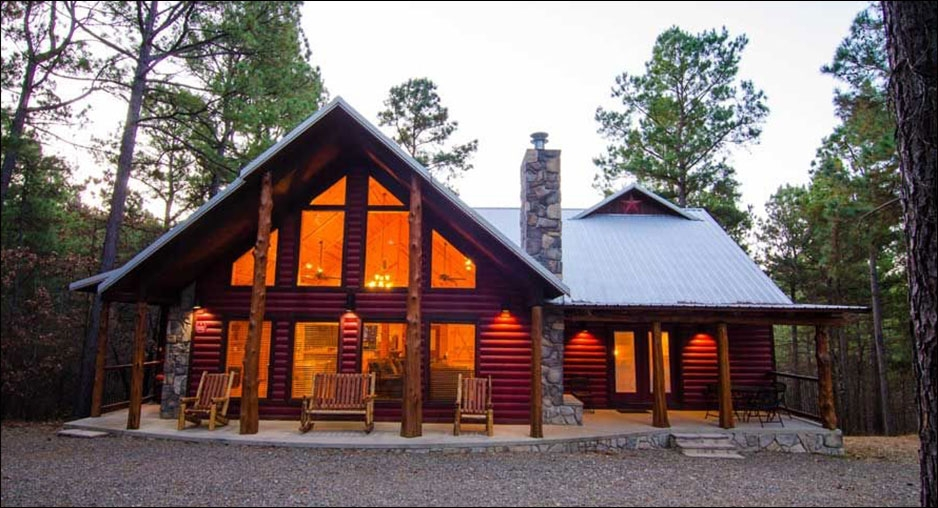 crimsonstar cabin in broken bow ok beavers bend cabins Broken Bow Ok Cabins