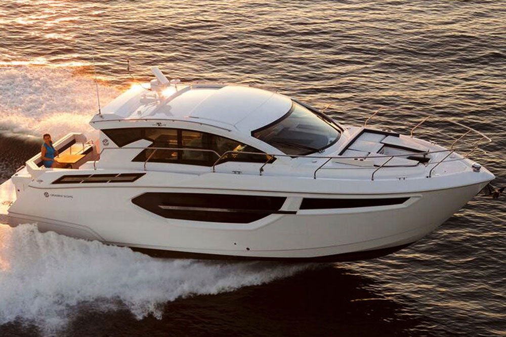 cruisers yachts cantius 42 review boats 2018 Cabin Cruiser