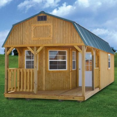 derksen deluxe lofted barn cabin Lofted Cabin