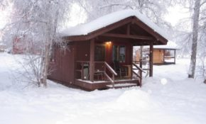 dry cabin no running water or bathroom picture of chena Chena Hot Springs Cabins