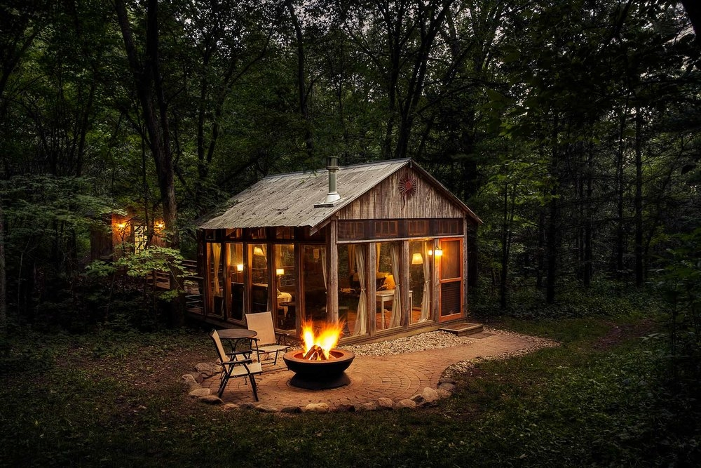 glass house candlewood cabins Candlewood Cabins