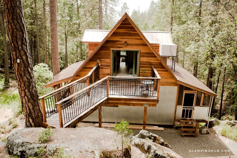 Permalink to Elegant Yosemite National Park Cabin