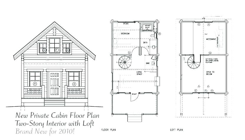 house plans with loft junctioncave Loft Cabin Plans