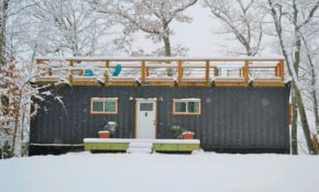 how to build a tiny container cabin nicholas skytland medium Container Cabins