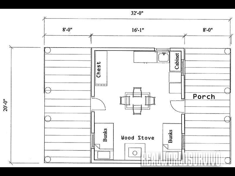 how to build your own dream cabin Trapper Cabin Plans