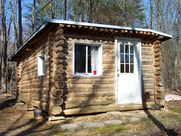 keiths tiny log cabin Trapper Cabin Plans