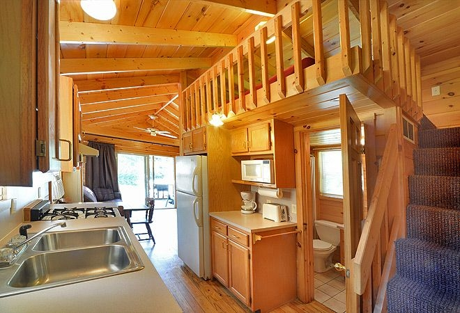 lake george escape campground 39 ft pet friendly rental Lake George Pet Friendly Cabins
