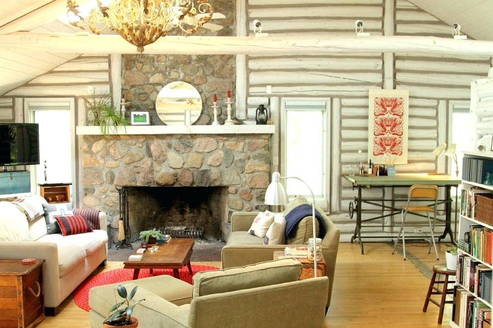 log cabin home decorating ideas equipped vintage country Furniture Wall Cabin