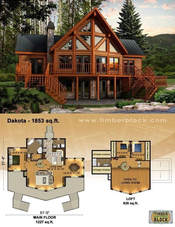 log house plans google search cool things log home Mountain Cabin Plans With Loft