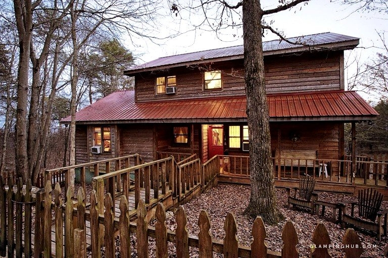 luxury cabin in complete seclusion near cloudland canyon georgia Cloudland Canyon Cabins