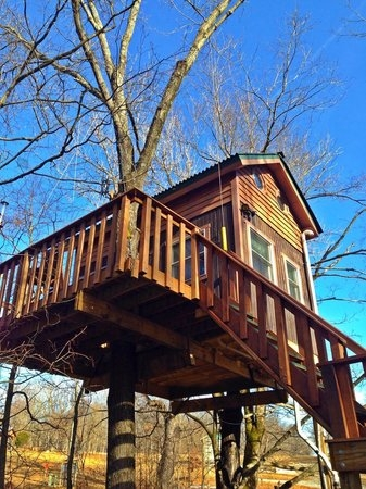 maple oak treehouse picture of timber ridge outpost Timber Ridge Cabins
