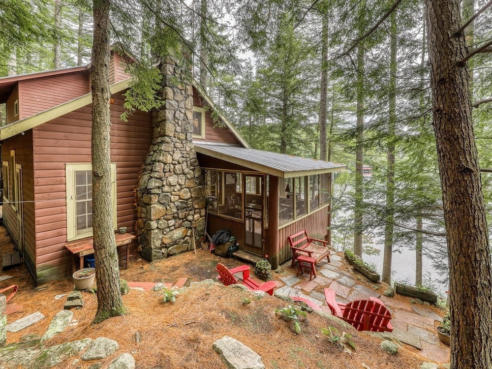 new listing dog friendly lakefront camp cabin w a dock Lake George Pet Friendly Cabins