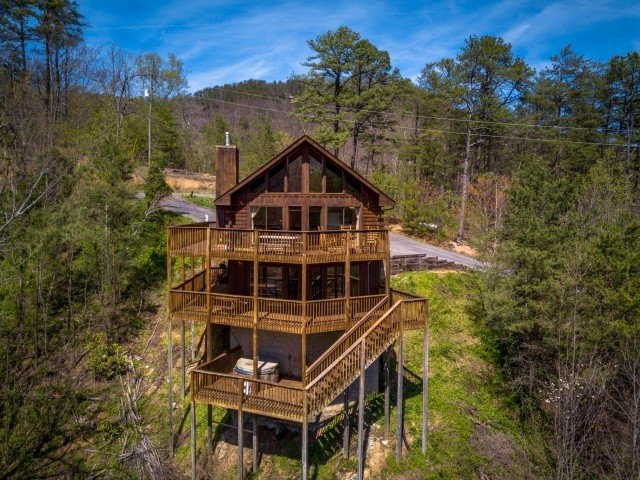 nice secluded cabin for a small family or private getaway Secluded Cabins In Tennessee
