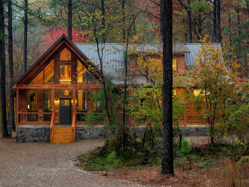 not today exquisite luxury cabin near broken bowbeavers Beavers Bend Oklahoma Cabins