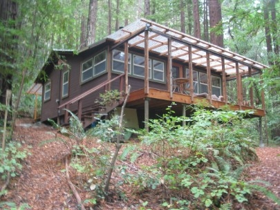 one of a kind cabin home in santa cruz ca Santa Cruz Cabins